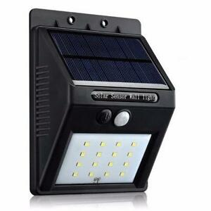 Larger Version 16LED  Push-button Outdoor Solar Motion Lights