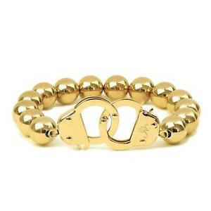 50% OFF All Jewellery - 18k Gold | Beaded Cuff Bracelet