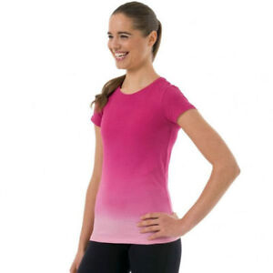 Womens ZAGORRA Work Out T-shirt Pink SIZE XL London Ontario image 2