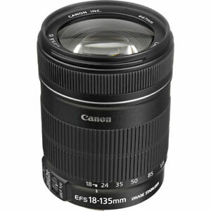 Canon EF-S 18-135mm f/3.5-5.6 IS Lens - Canon 18-135 barely used