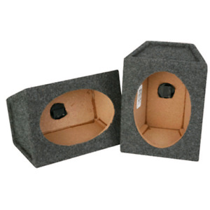Two 6x9 car stereo boxes