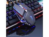 LED Gaming Mouse DPI Adjustable