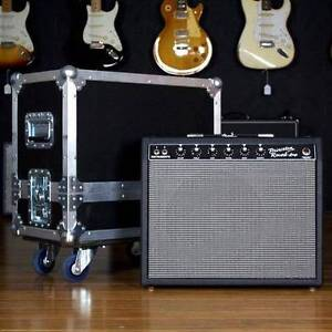 USED DR JOHNSON PRINCETON REVERB AMP WITH ROADCASE Moorooka Brisbane South West Preview