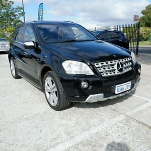 2010 Mercedes-Benz ML350 CDI W164 MY10 BlueEFFICIENCY Black 7 Speed Sports Automatic Wagon St James Victoria Park Area Preview