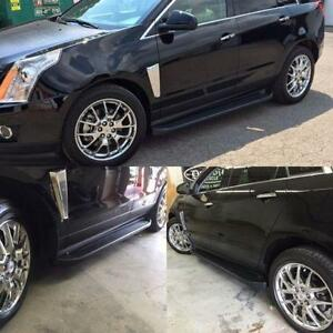 Running boards Cadillac SRX