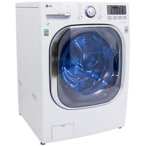 LG WM3997HWA 27in All-In-One Vent-less STEAM Washer Dryer combo