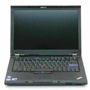 """Lenovo T410 Core i5 2.53 GHz 14.1"""" 4GB 320GB clean laptop with store warranty"""