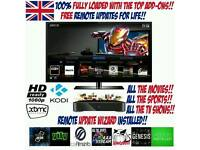 ANDROID TV BOX ** FULLY LOADED ** KODI 16.1 ** FREE UPDATES FOR LIFE ** MXQ **