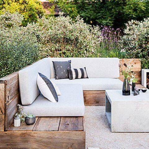 Scaffold board furniture in stratford london gumtree for Garden decking gumtree