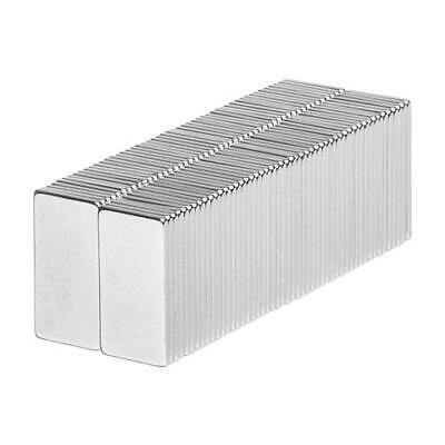 1/2 x 1/4 x 1/32 Inch Neodymium Rare Earth Block Magnets N52