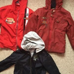 Boy's and girl's fall jackets size 6 and 6x. AVAILABLE