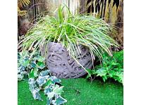 Stone Garden Planter - Stag Design