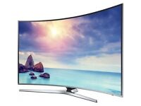 """SAMSUNG UE43KU6670 Smart 4K Ultra HD HDR 43"""" Curved LED New TV RRP £699, Our price £425"""
