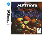 Nintendo ds games for sale metroid prime hunter/orcs & elves/trauma center under the knife