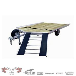 Triton Trailer 8x12 V-NOSE XT12VR-101