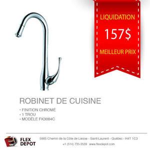 Robinet De Cuisine Bec Rétractable - NEUF
