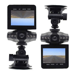 Dash Video Camera With Night Vision