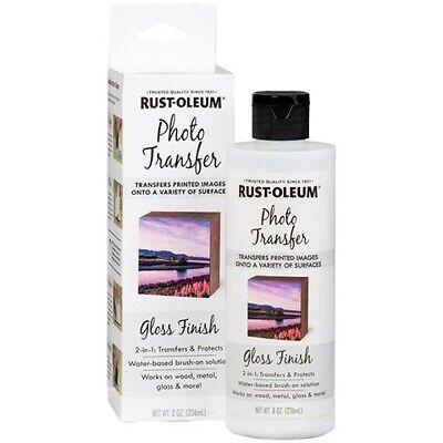 Rust-oleum Photo Transfer Gloss Finish 8 Oz. Bottle
