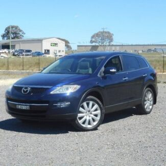 2008 Mazda CX-9 TB10A1 Luxury Blue 6 Speed Sports Automatic Wagon Run-o-waters Goulburn City Preview
