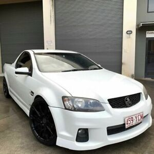 2011 Holden Commodore 2 SV6 Thunder White 6 Speed Auto Active Sequential Utility Burleigh Heads Gold Coast South Preview
