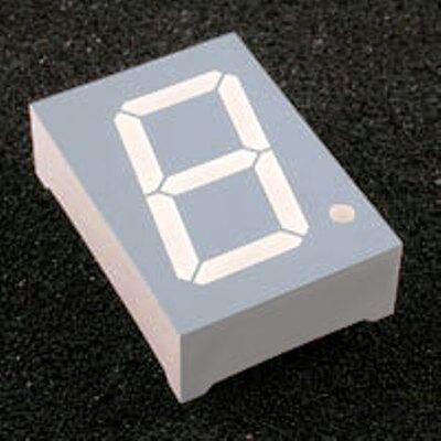 7 Seg Single Digit Led Display 1.0 G Y R Two Units