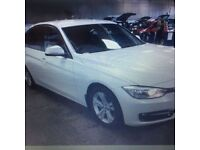 BMW 3 SERIES 2.0 316D SPORT 4d 114 BHP (white) 2014
