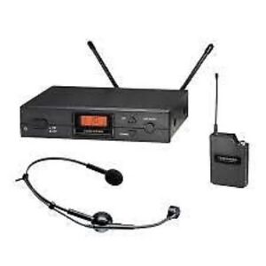 Head Set Wireless Mic* Audio Technica 2000 Serie* Neuf