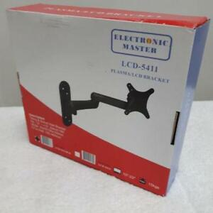 10 - 23 TV Wall Mount Tilt And Swivel Television and Computer Monitor NEW