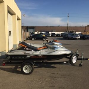 2009 Sea Doo Rxp x 255 with trailer