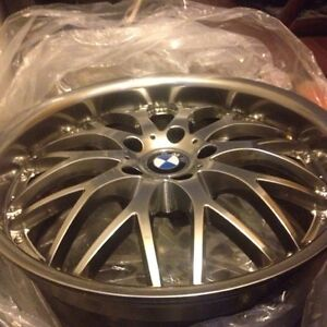 "Full set of Wheels 19"" New shape, no issues, BMW, Jaguar"