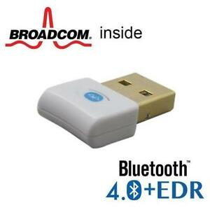 USB Bluetooth 4.0 Adapter Dongle Broadcom 20702 Win 7/8/10 OSX