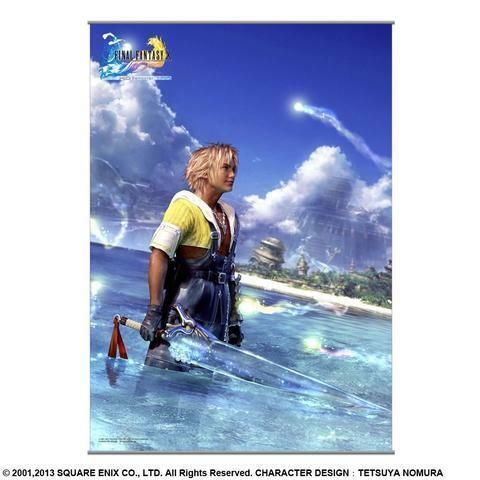 FFX TIDUS WALL SCROLL - Final Fantasy X - ANIME - NEW - KOTO INC