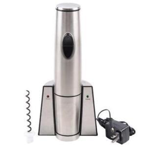 Waring WWO120 Portable Rechargeable Wine Bottle Opener