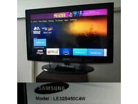 Samsung 32inc lcd tv / 3 HDMI/Freeview/remote/cash or swaps