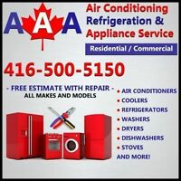APPLIANCE REPAIR COMMERCIAL & RESIDENTIAL| 416-500-5150