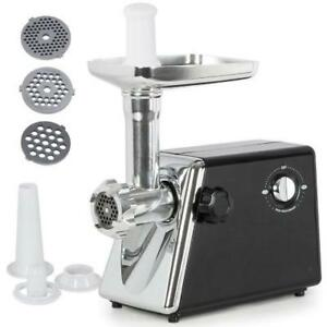 1300W Electric Meat Grinder Stainless Steel Sausage Kubbe Kit w/ Blade + Plate - FREE SHIPPING