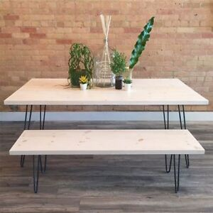 Hairpin Coffee / Desk / Console / Dining Table / Bench / Stool Kitchener / Waterloo Kitchener Area image 6
