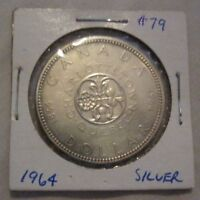 Three Canadian Silver Dollar Coins - 80% pure silver
