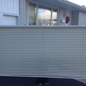 2 LARGE CUSTOM BLINDS *** NEW VERY LOW PRICE !!!