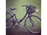 Women bicycle including helmet and basket 40 GBP