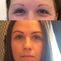 Microblading 300.00 includes touch up