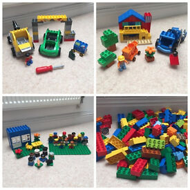 Lego Duplo Legoville Busy Garage set 5641, Bob The Builder set 3597,set 5592,and 5651 and lots more!