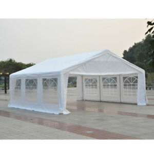 Heavy Duty 20' x 20 Restaurant Patio Tent / Wedding Tent / Party