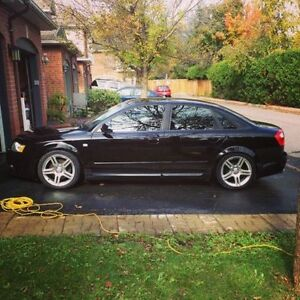 2004 Audi A4 Sedan 1.8T Quattro MODDED