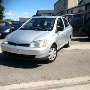 2001 Toyota Echo. Clean, 5 Sp/Manual.Certified. Call 9054322277