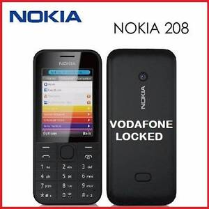 NEW 3G NOKIA 208 VODAFONE LOCKED O484 189 733 $65 Castle Hill The Hills District Preview