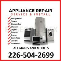 APPLIANCE REPAIR SERVICES $50  (Limited time offer rate)