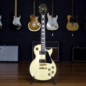USED EPIPHONE LES PAUL CUSTOM BLACK BACK Moorooka Brisbane South West Preview