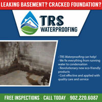 TRS Waterproofing Leaky Basement