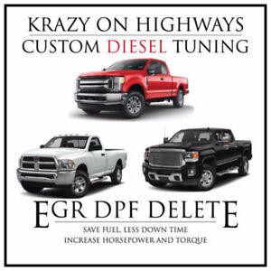 CUSTOM Krazy On Highways EFI Live Tuning